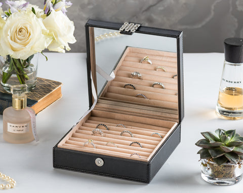 Ring Organizer Box - 54 Slots