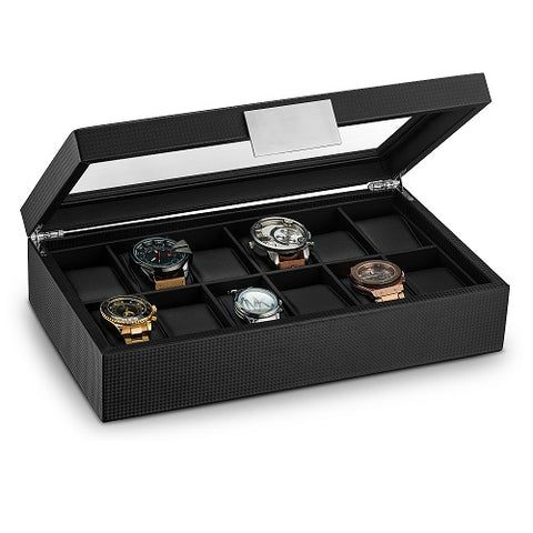 Men's Watch Orgenizer Box - 12 Slots
