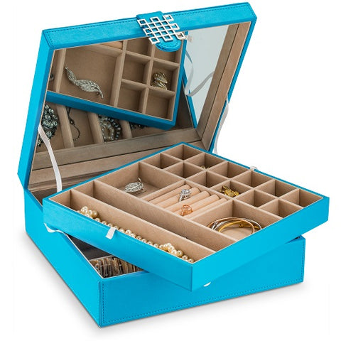 Jewelry Organizer Box - 28 Slots