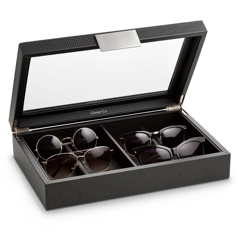 Sunglasses Organizer Box- Display 8 Sunglass