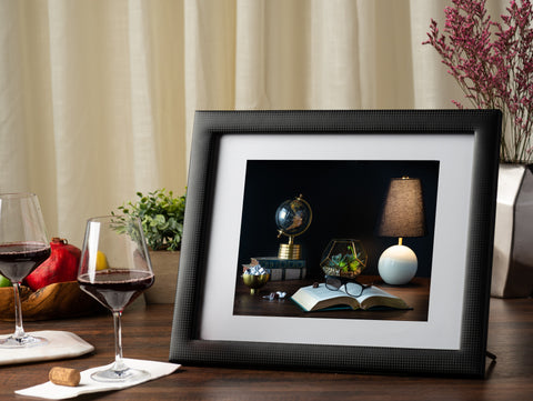 11x14 Picture Frame with Stand & Mat