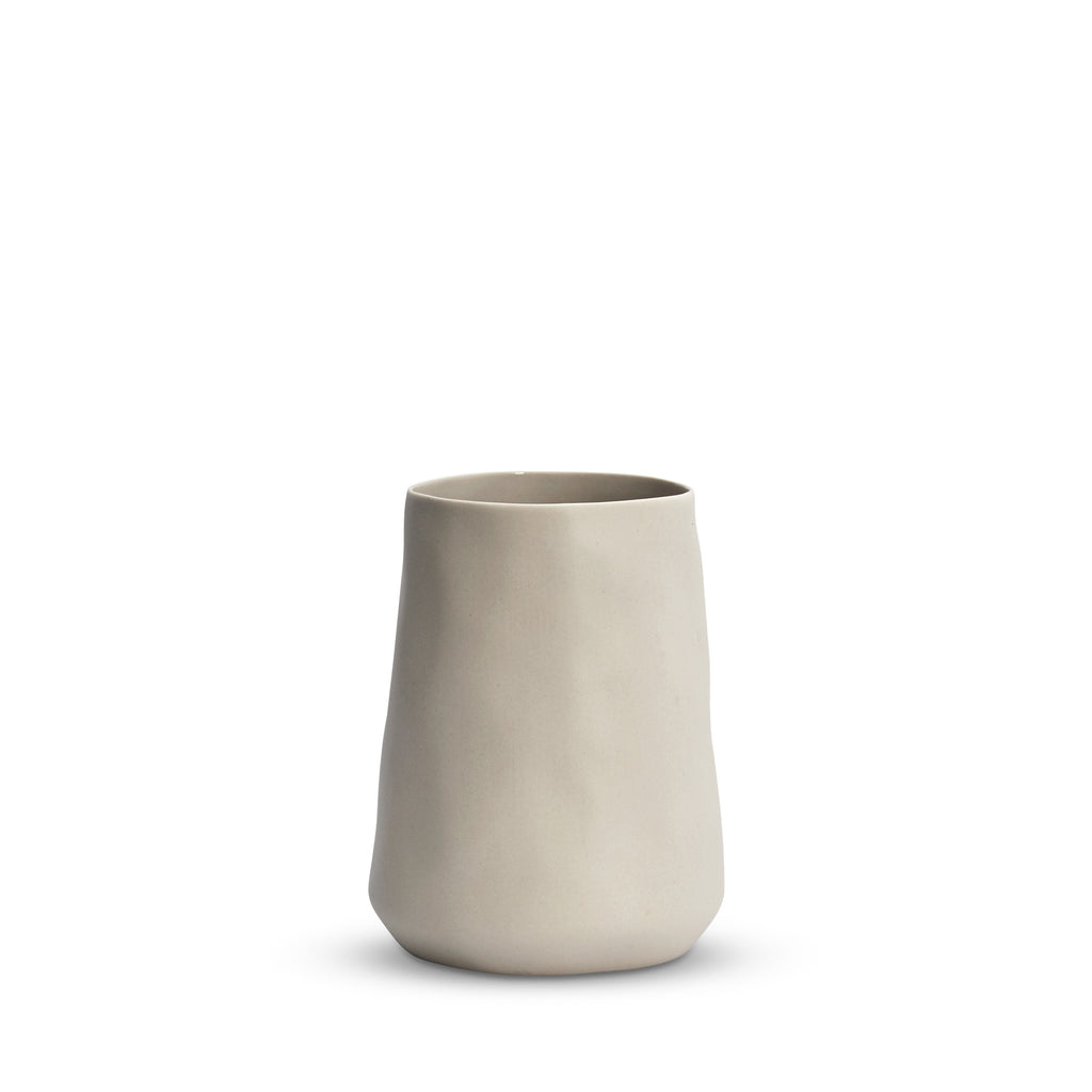 Cloud Tulip Vase Chalk (M)