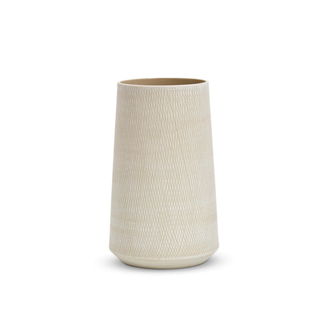 Etchings Tulip Vase (L) White