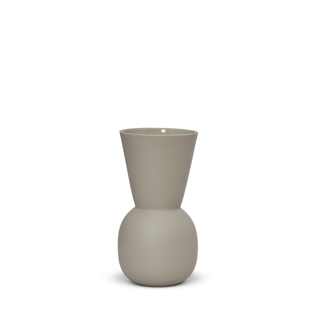 Cloud Bell Vase Dove Grey (S)