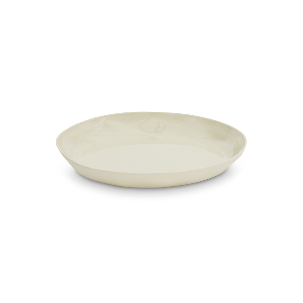 Cloud Round Plate Chalk White (M)