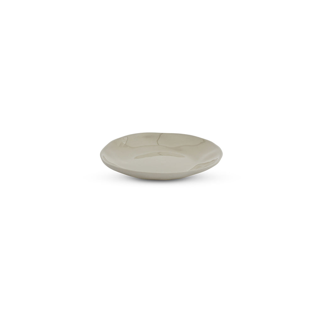 Cloud Round Plate Dove Grey (S)