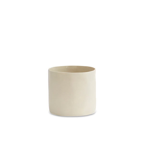 Cloud Vase Chalk White (L)