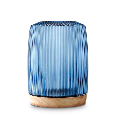 Pleat Vase Ink Blue (XL)