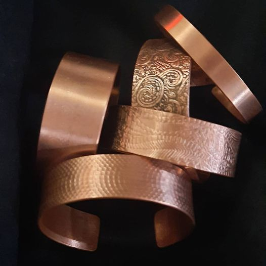 Wide or Narrow Copper Cuffs