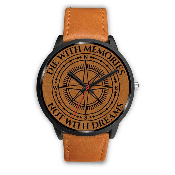 Adventurer's Watch - Brown Leather