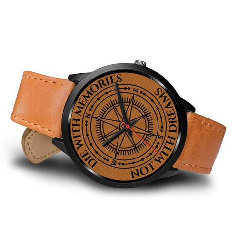 Image of Adventurer's Watch - Brown Leather