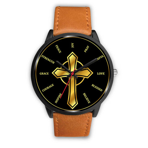 Image of Christian Inspired Watch - over 10 Watch Band Designs Available!