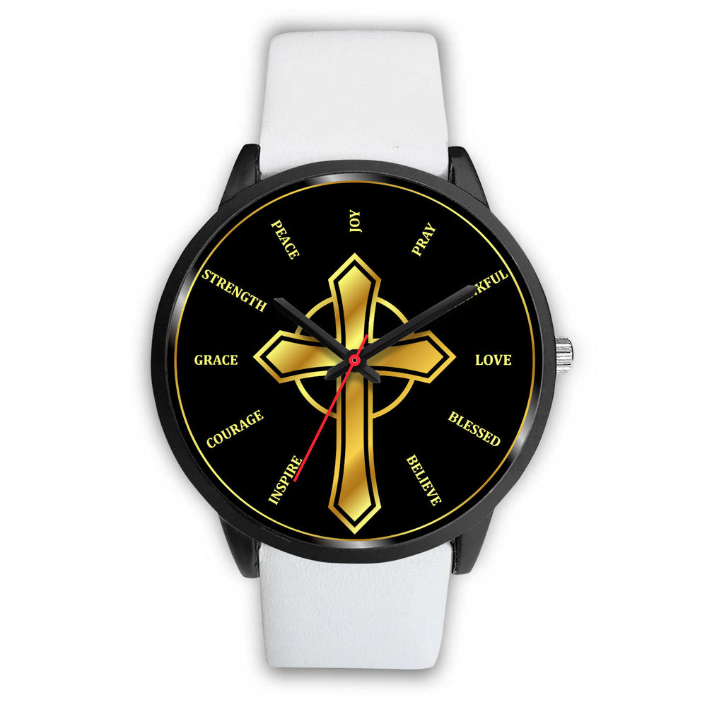 Christian Inspired Watch - over 10 Watch Band Designs Available!