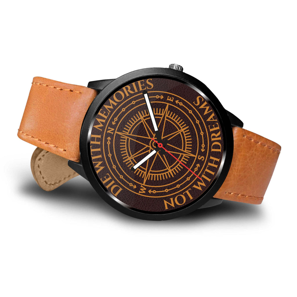 Life Adventurer's Brown Leather Watch