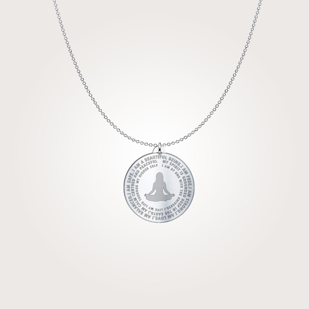 I Am Beautiful - Silver Necklace