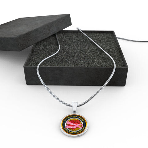 Image of Fighter Cancer Necklace - Gift for your wife