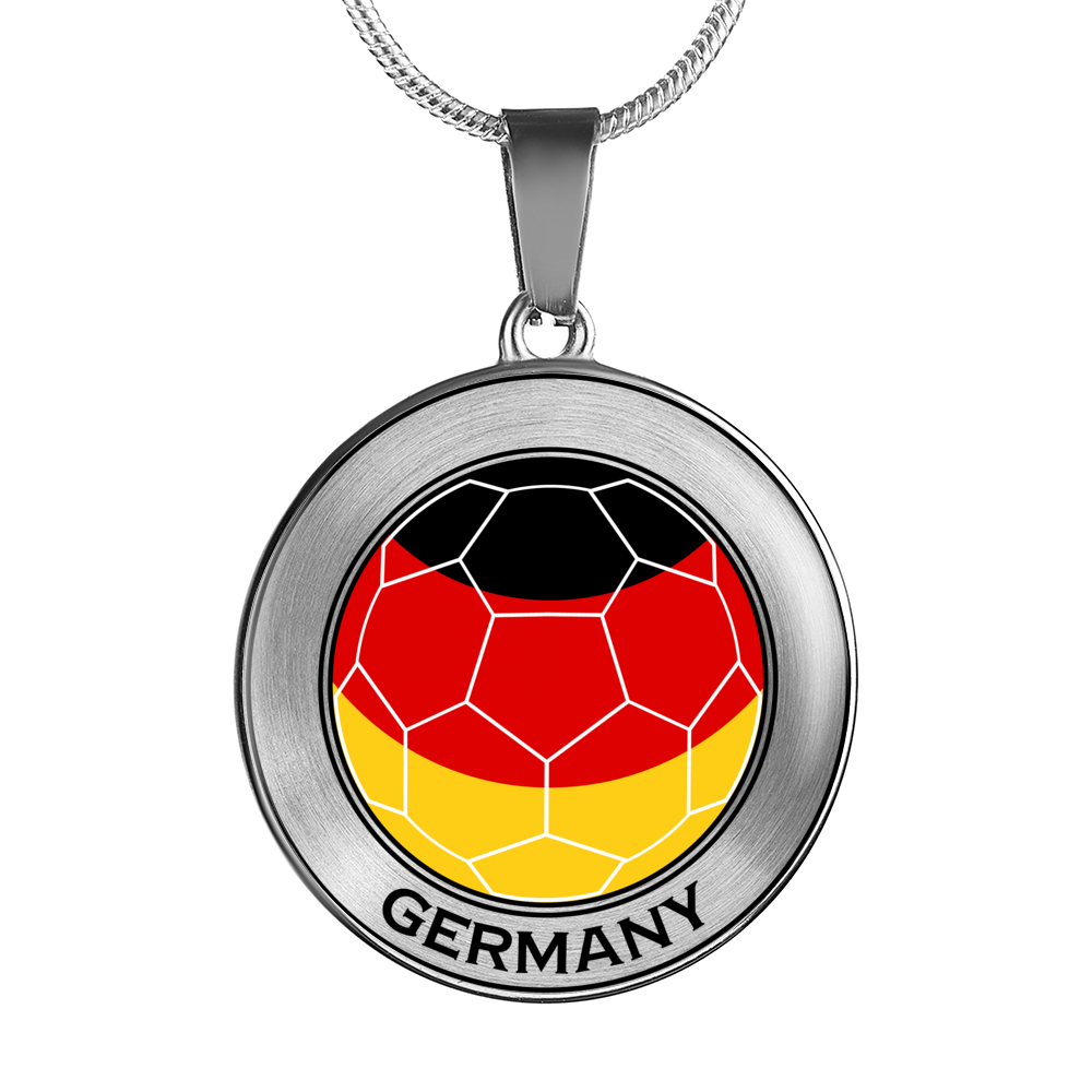 Soccer Necklace or Bracelet - For Germany Fans!