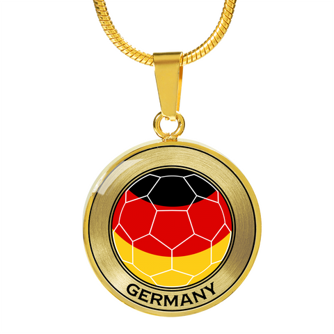 Image of Soccer Necklace or Bracelet - For Germany Fans!