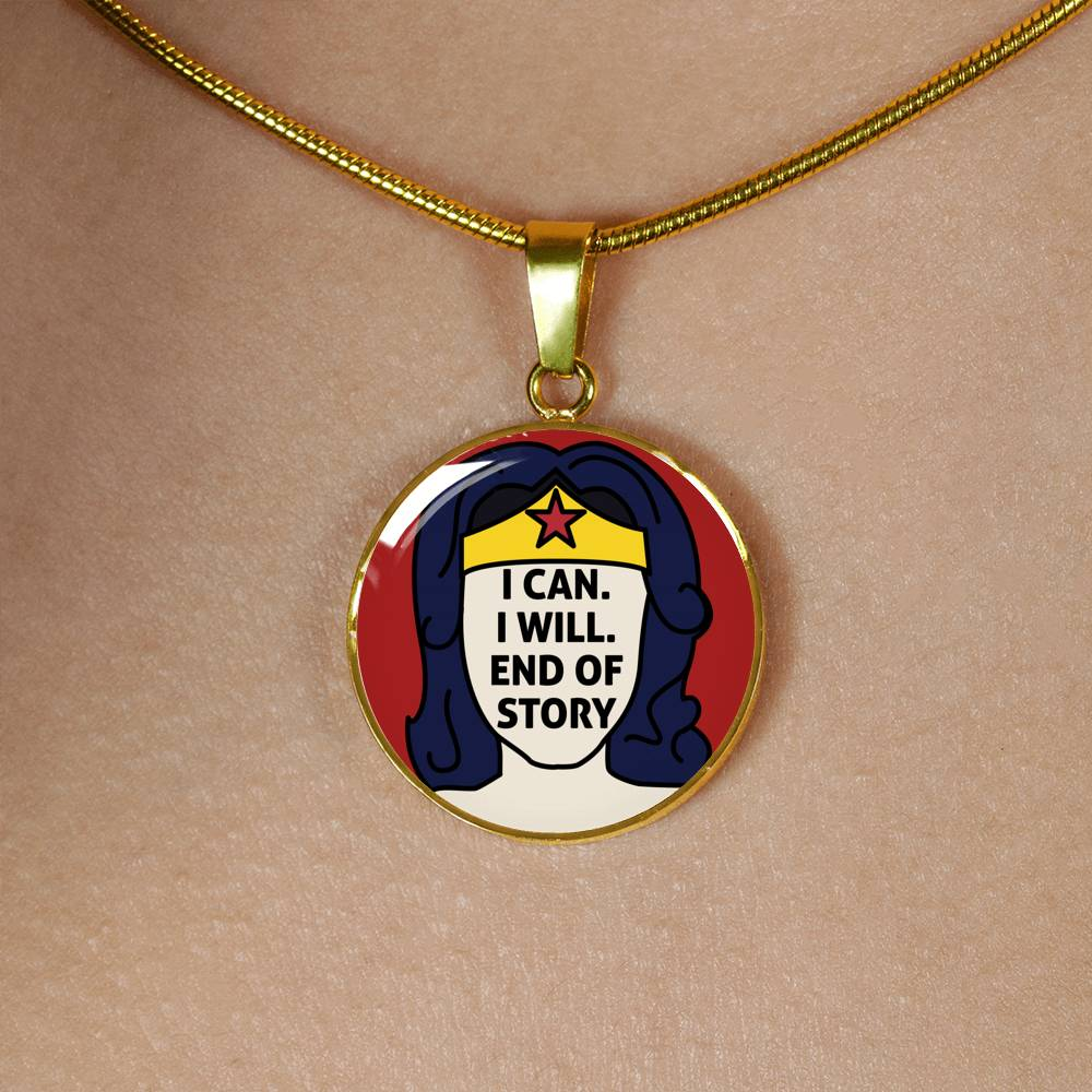 I Can Necklace (Silver / Gold)