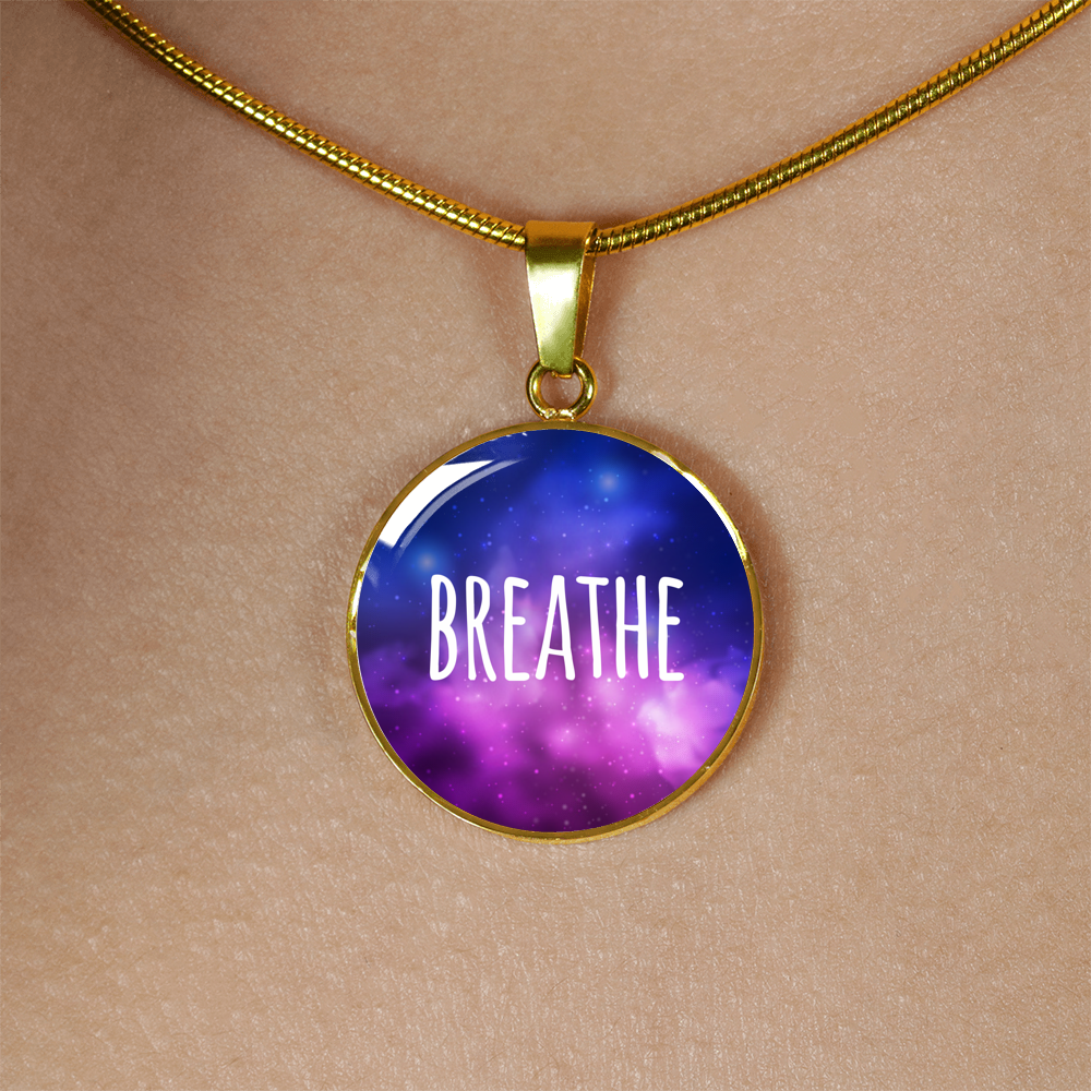"""Breathe"" Necklace (Silver / Gold)"