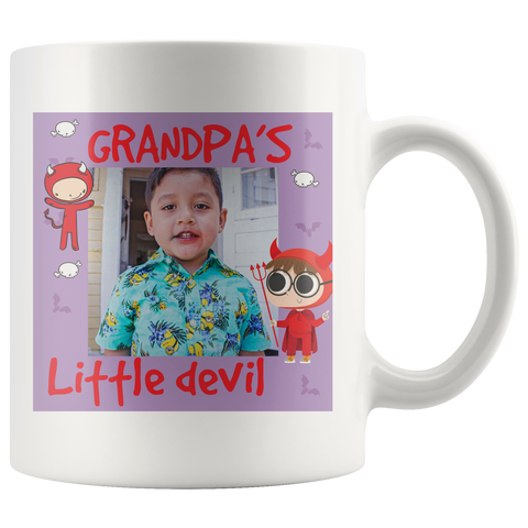 Image of 11 oz Personalized Grandparent Mugs