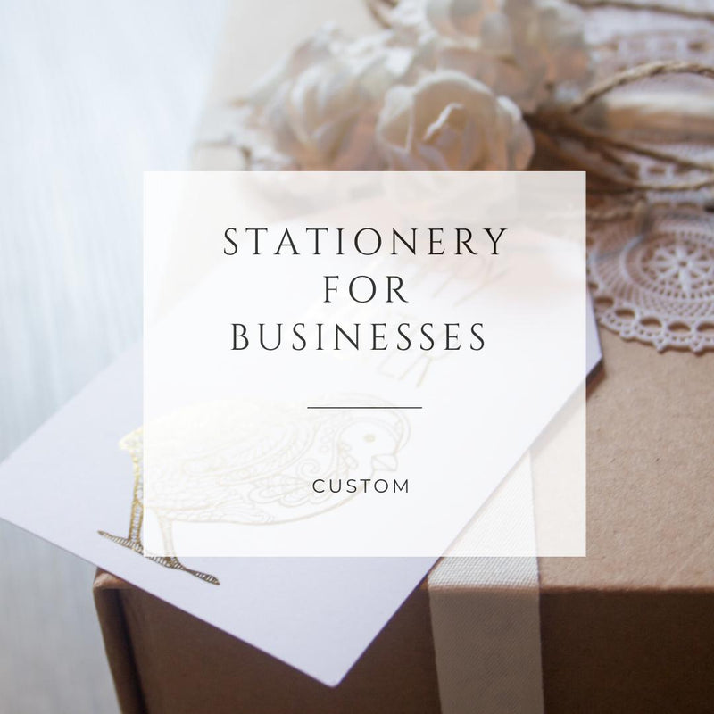 Custom Stationery For Businesses -  Business Stationery - Adore Paper