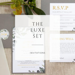 The Luxe Set -  invitations - Adore Paper