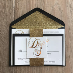 Midnight Dream Design - Invitation -  invitations - Adore Paper