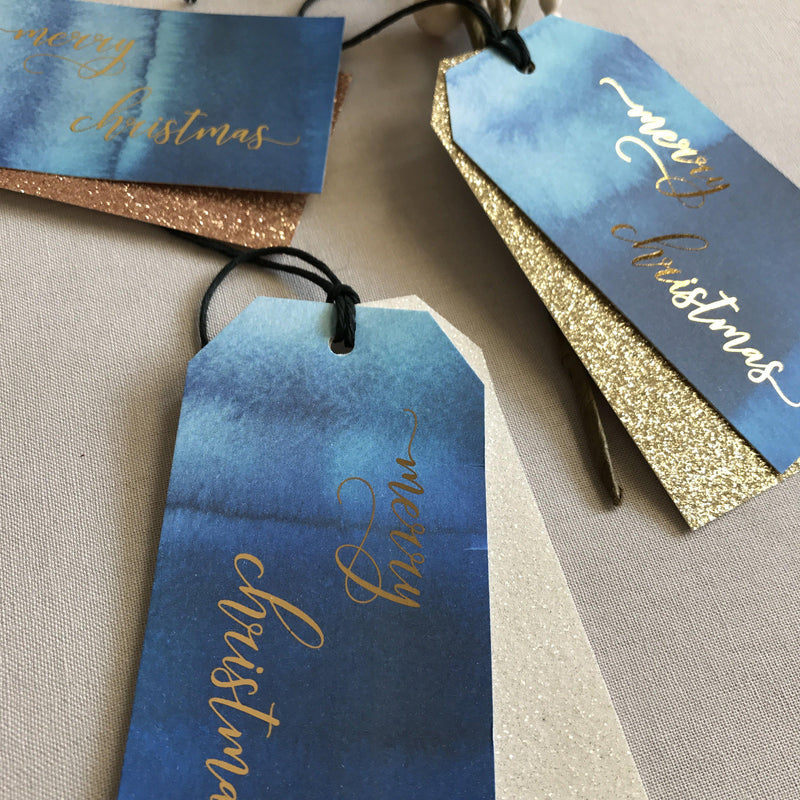 CHRISTMAS SPARKLE -  Tags - Adore Paper