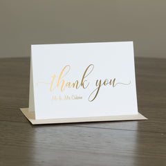 Thank you card -  invitations - Adore Paper