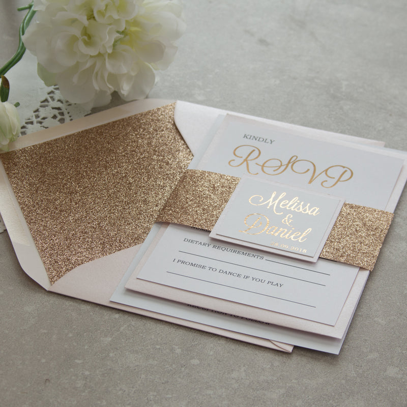 Glitter Belly Bands -   - Adore Paper