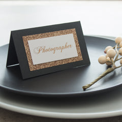 Midnight Dreams - Place Cards -  invitations - Adore Paper