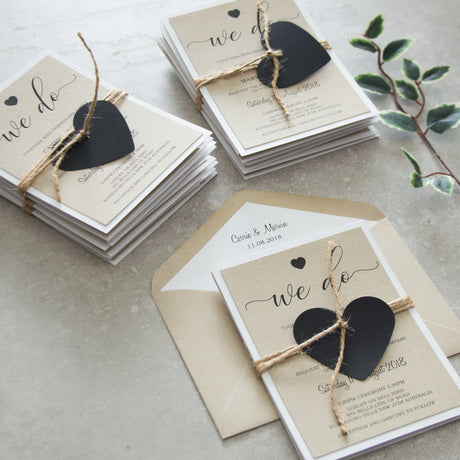 Rustic Love - Invitation Suite