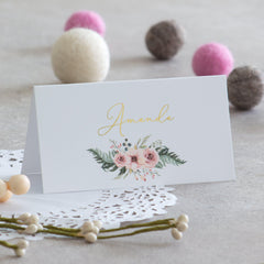 Fall In Love - Place Cards -  invitations - Adore Paper