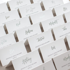 Elegance - Place Cards -  invitations - Adore Paper