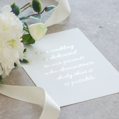 Wedding Day Signs -  Prints - Adore Paper