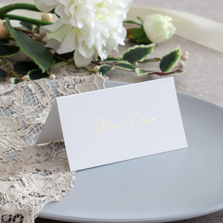 Love and Romance - Place Cards