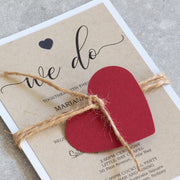 Rustic Love Design - Invitation