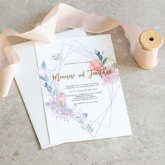 Romantic - Invitation -  invitations - Adore Paper