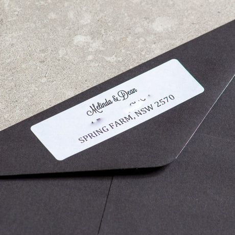 Envelope Address Wrap