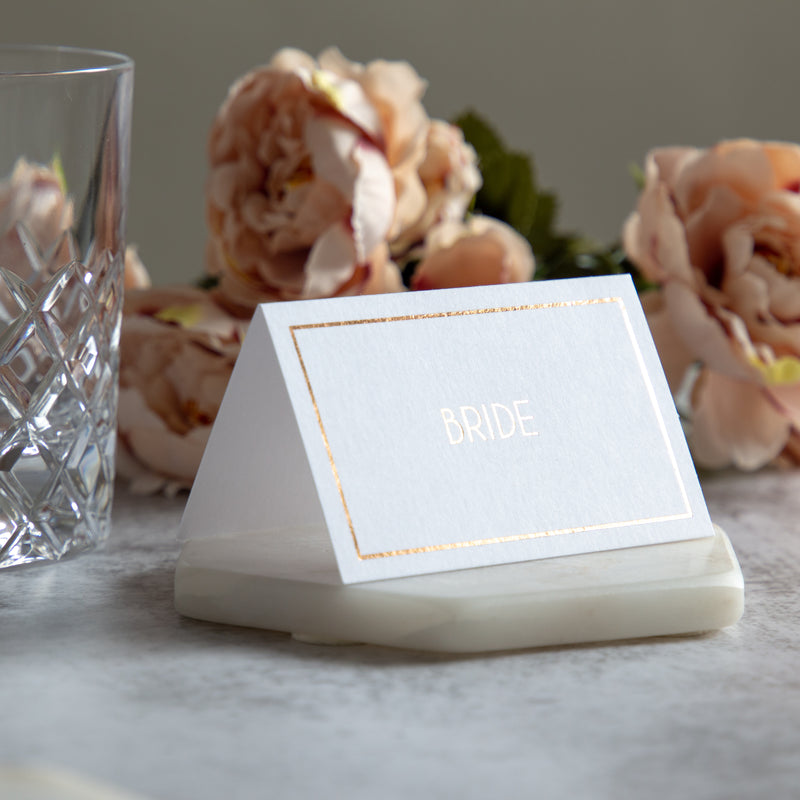 Classic Charm - Place Cards -  place cards - Adore Paper