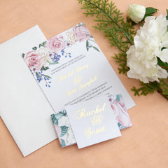 Secret Garden - Invitation Design -  invitations - Adore Paper