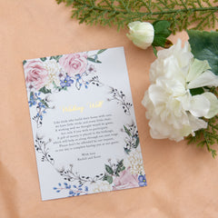 Secret Garden - Wishing Well -  invitations - Adore Paper