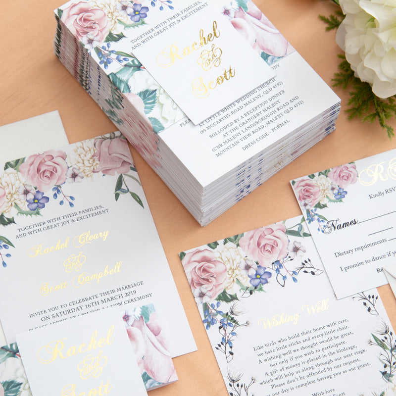 Secret Garden - Invitation Suite -  invitations - Adore Paper