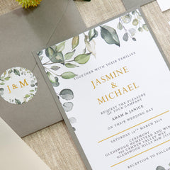 Enchanted Design - Invitation -  invitations - Adore Paper