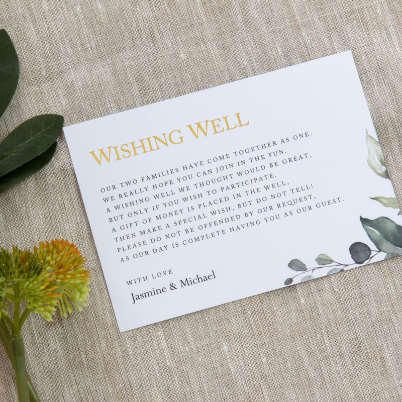 Enchanted - Wishing Well -  invitations - Adore Paper