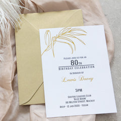 Botanical Invitation -  invitations - Adore Paper