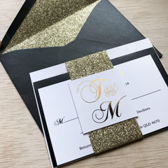 Midnight Dreams - Invitation Suite -  invitations - Adore Paper
