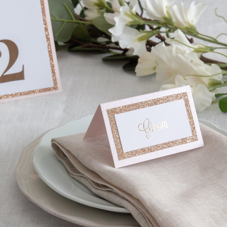 Dusky Rose -  Place Cards