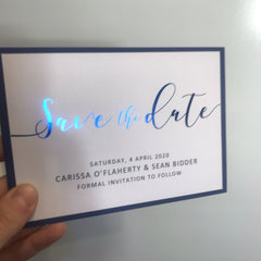Carissa and Sean Invitations -  invitations - Adore Paper